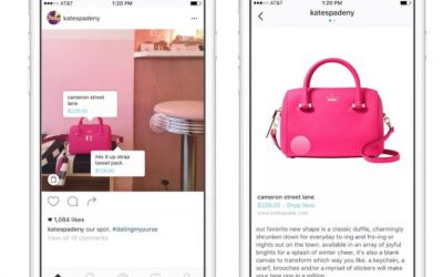 Tasto shopping instagram: da ora è possibile acquistare dal social
