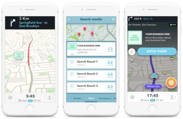 Waze Local: la pubblicità nella famosa app di mappe Waze