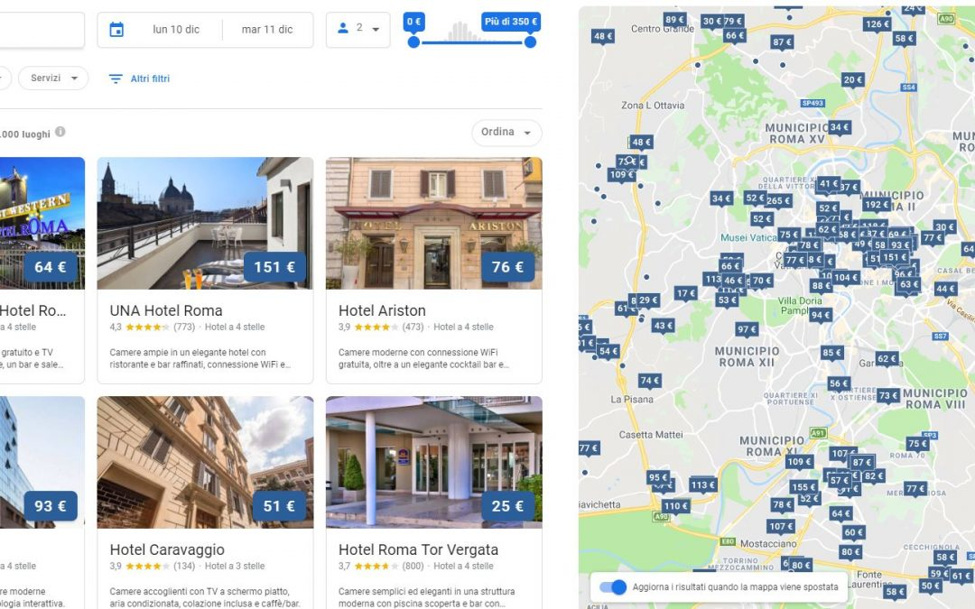 Google hotel ADS: cosa è e perchè è fondamentale per il turismo?