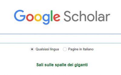 Guida a Google Scholar: cos'è e come funziona