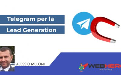 Canali Telegram per fare Lead Generation