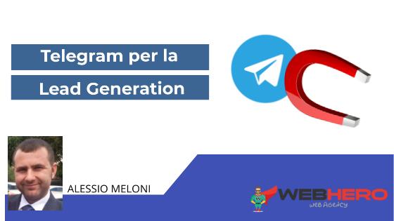Canali Telegram per fare Lead Generation