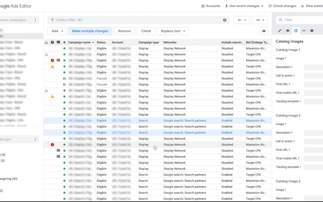 Google Ads Editor: cos'è e come ti aiuta a lavorare meglio
